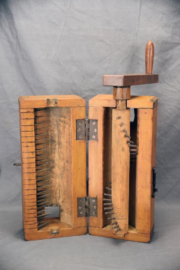 Antique Wooden Flax Mill - 2