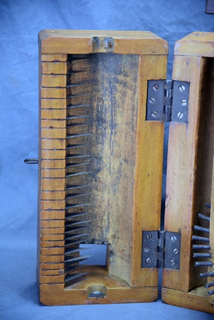 Antique Wooden Flax Mill - 3