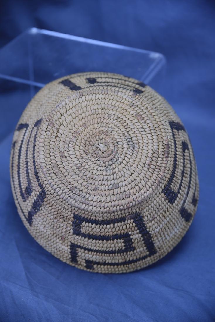 Native American Coil Basket Geometric Design - 4