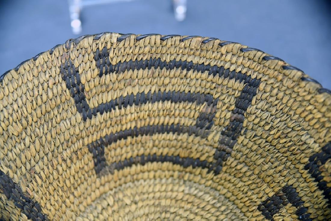 Native American Coil Basket Geometric Design - 5