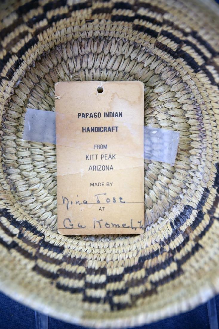 Native American Papago Basket - 5