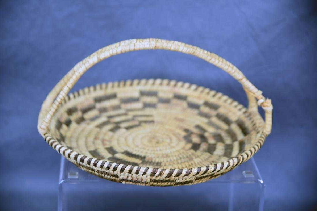 Lot of 4 Native American Coil Baskets - 2