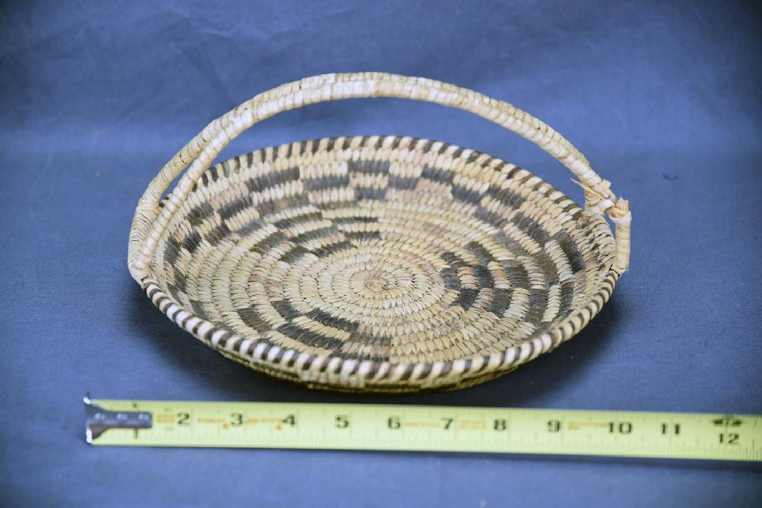 Lot of 4 Native American Coil Baskets - 3