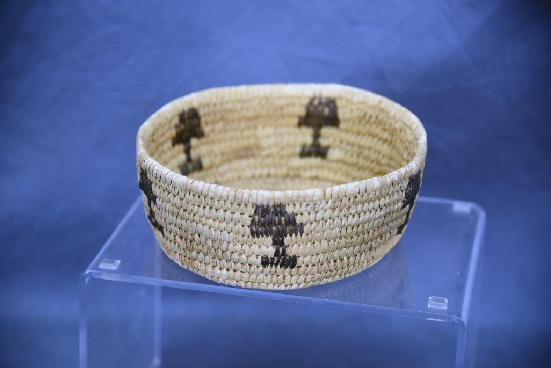 Lot of 4 Native American Coil Baskets - 6