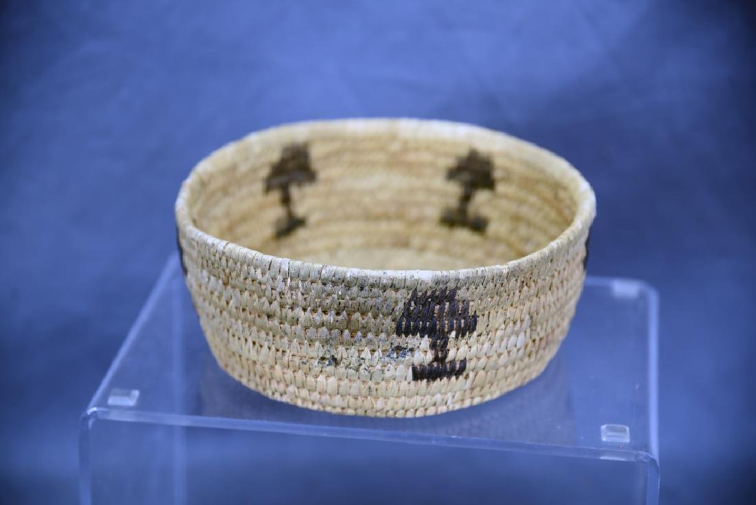 Lot of 4 Native American Coil Baskets - 7