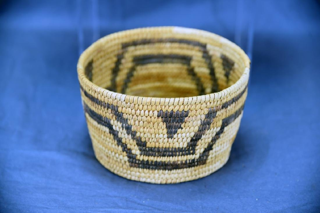 Lot of 3 Native American Coil Baskets - 3