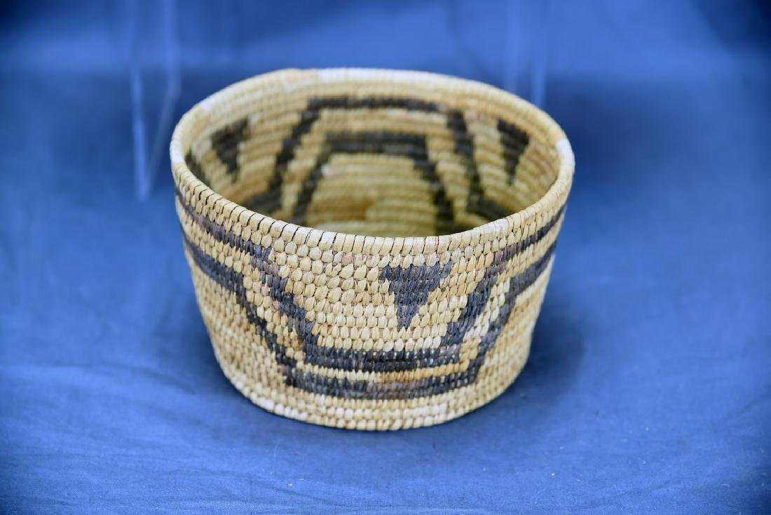 Lot of 3 Native American Coil Baskets - 4