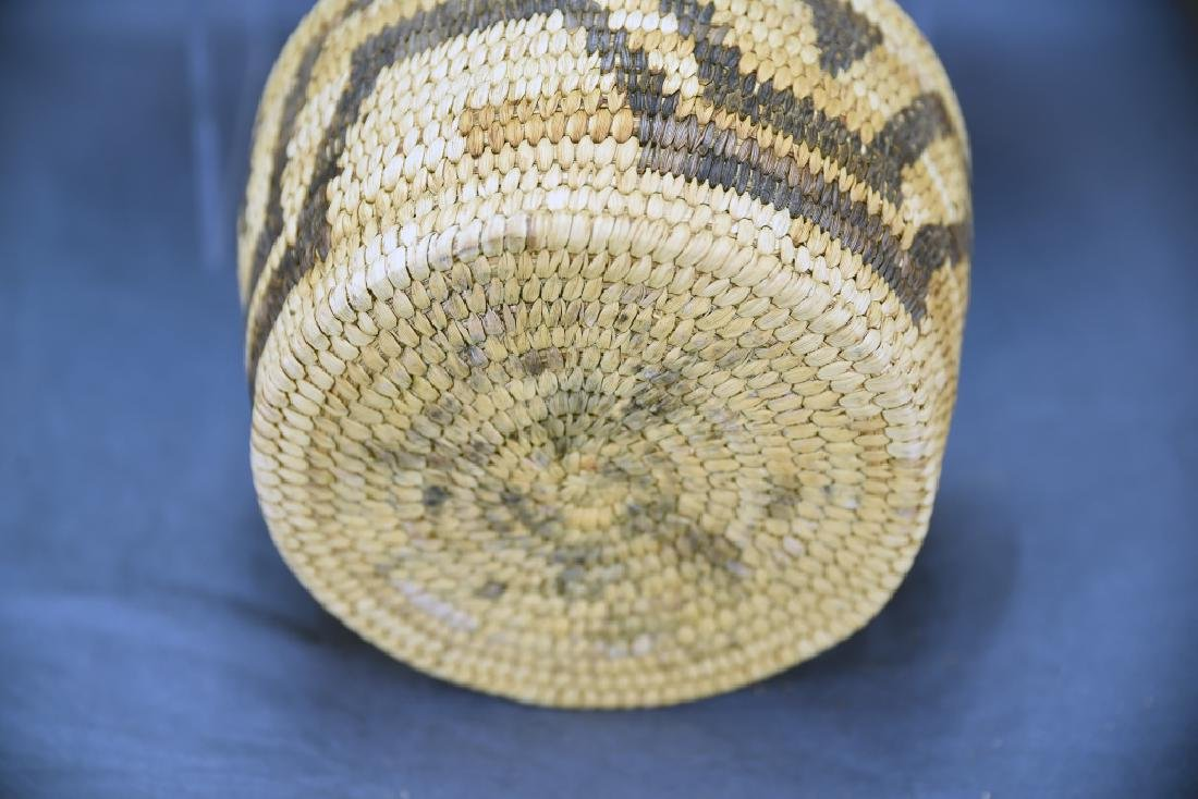 Lot of 3 Native American Coil Baskets - 7