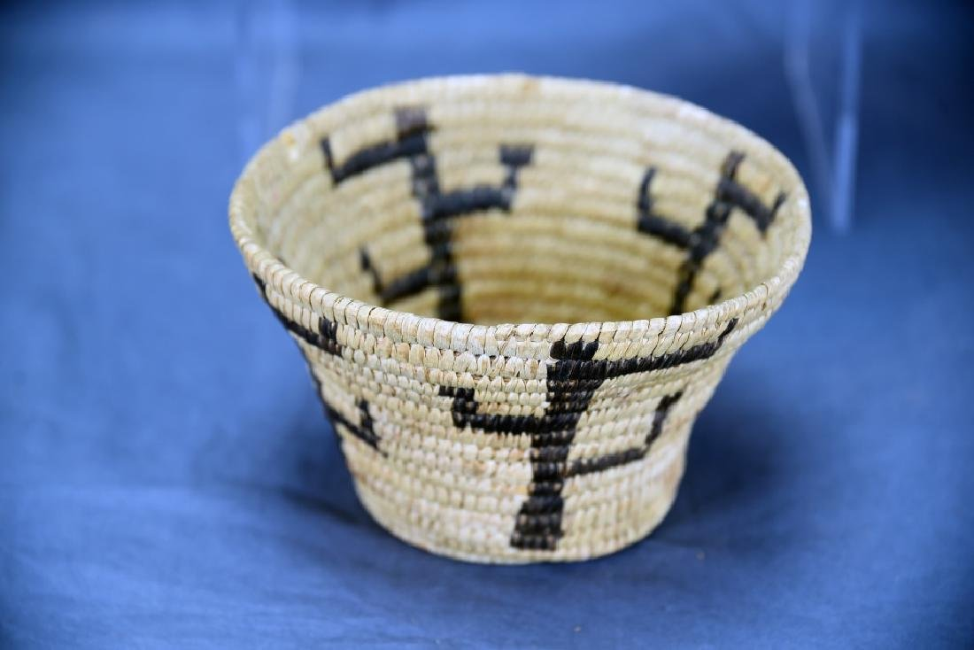 Lot of 3 Native American Coil Baskets - 8