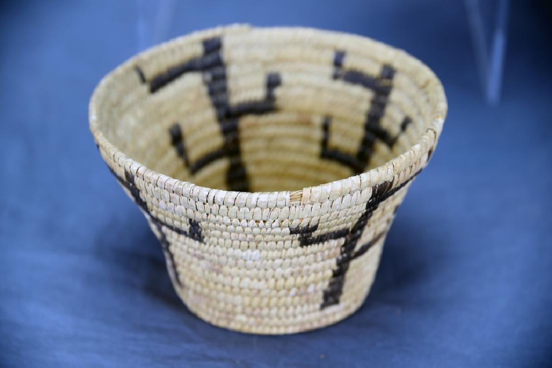 Lot of 3 Native American Coil Baskets - 9