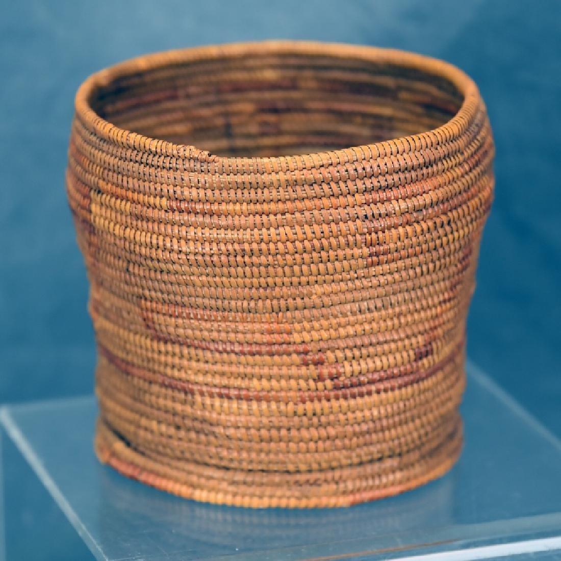Native American Coil Basket