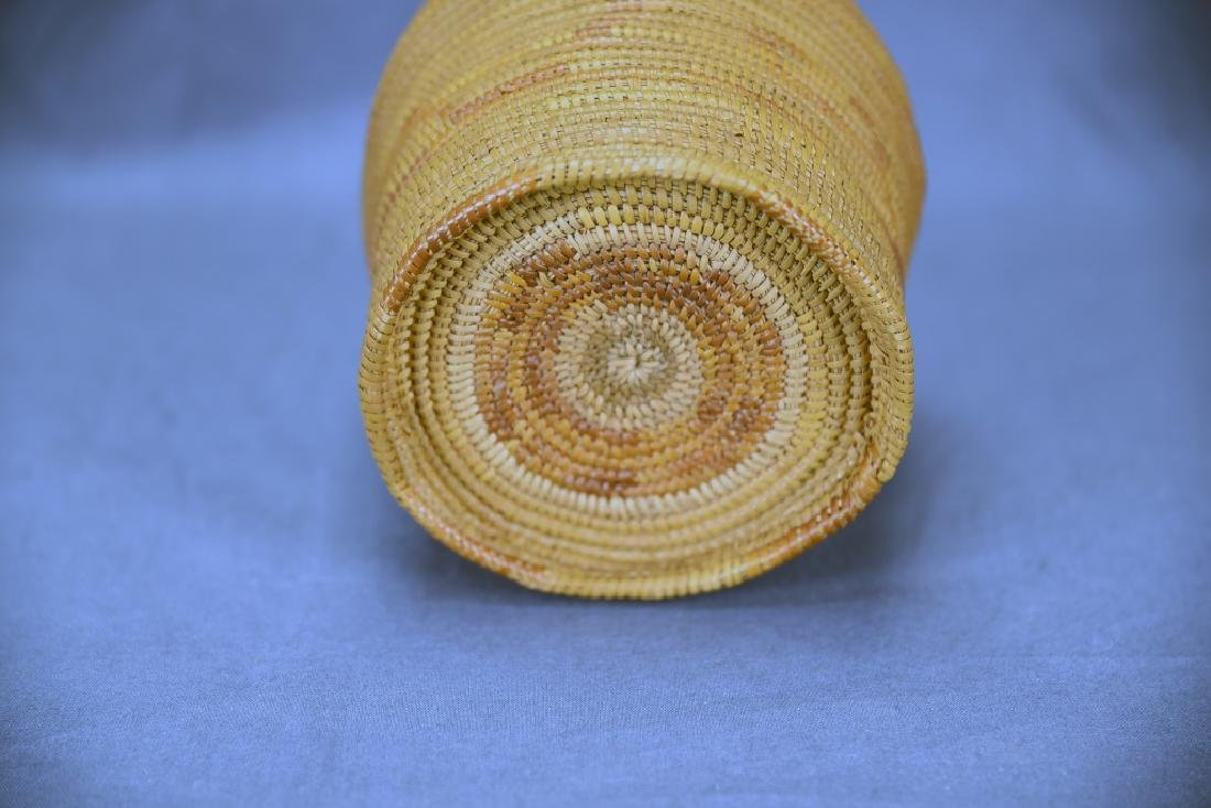 Native American Coil Basket - 4