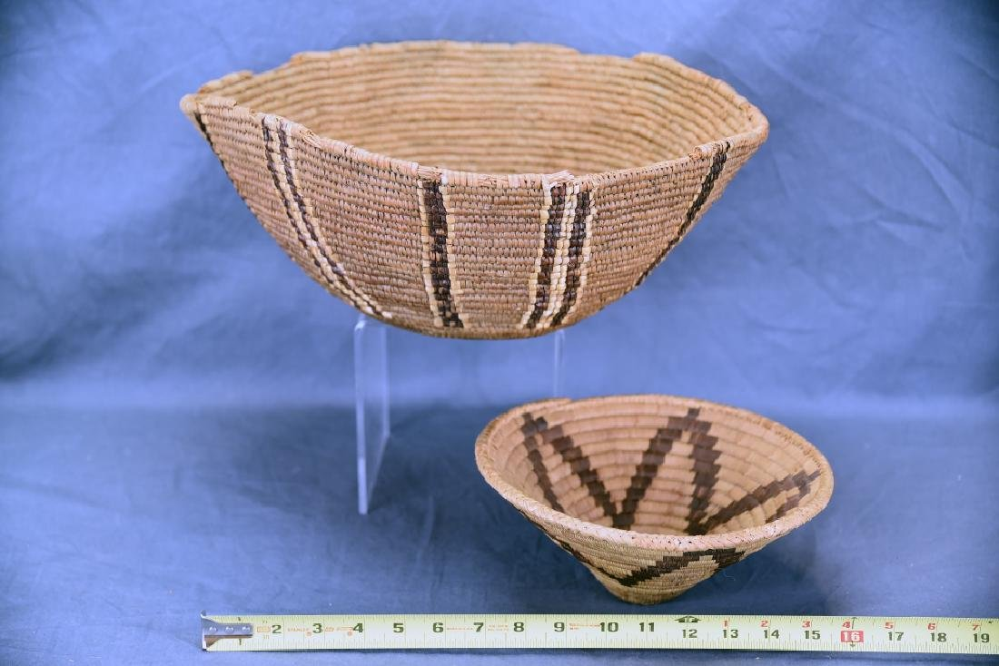 2 Southwest Native American Baskets - 2