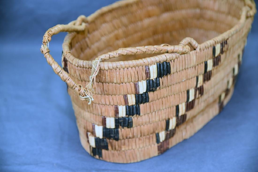 3 Thompson River Native American Baskets - 10