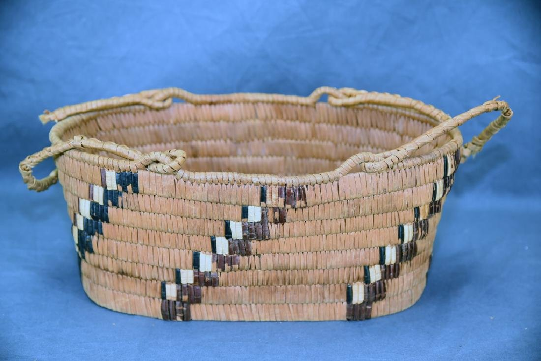 3 Thompson River Native American Baskets - 3