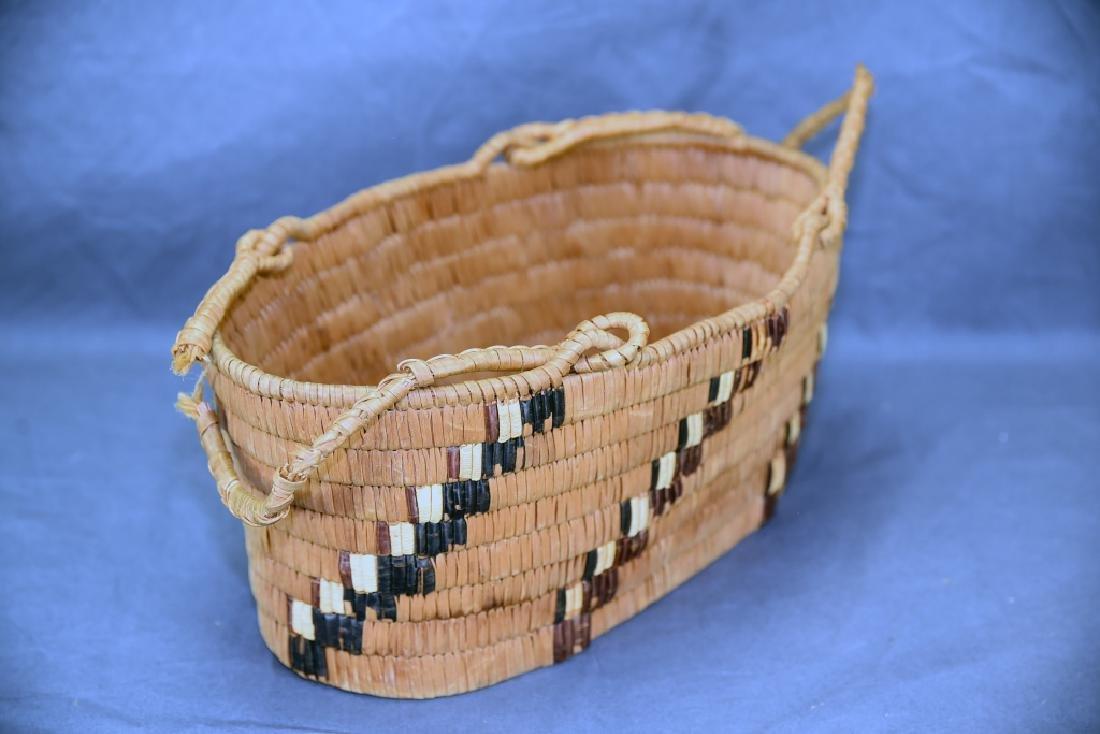3 Thompson River Native American Baskets - 6