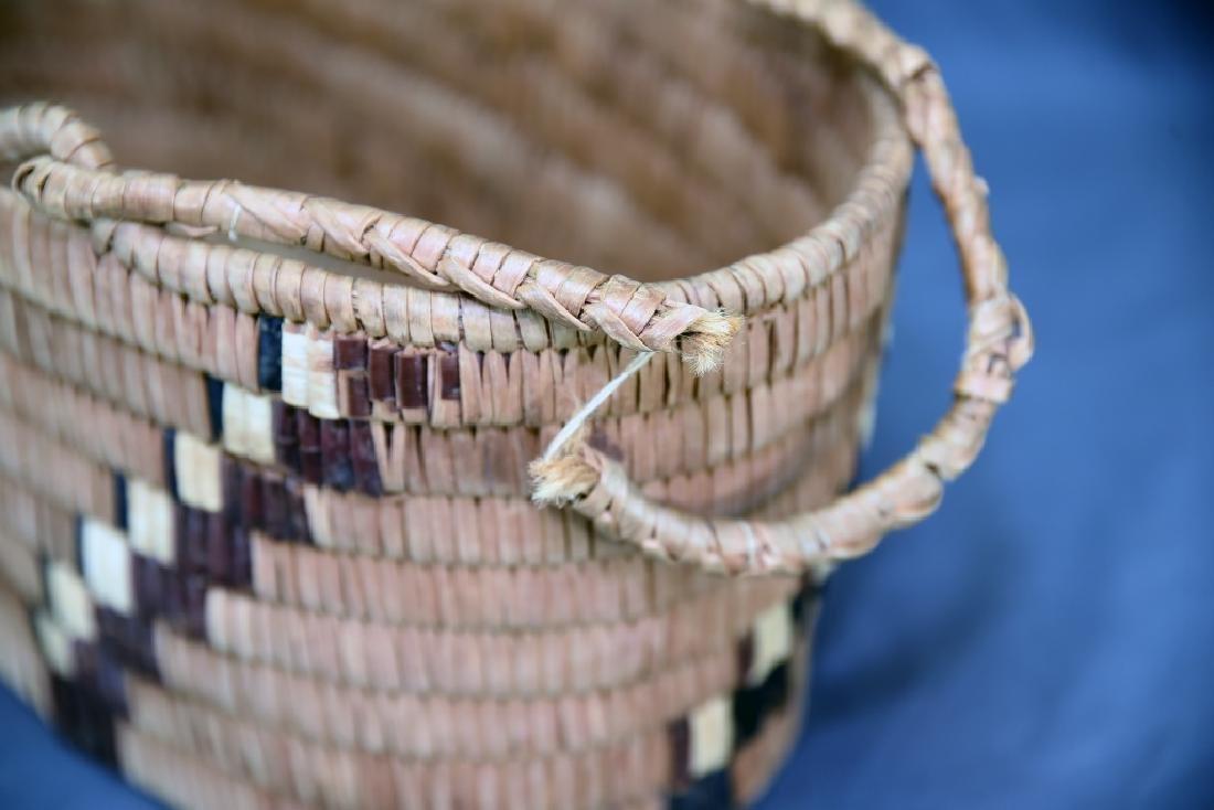 3 Thompson River Native American Baskets - 7