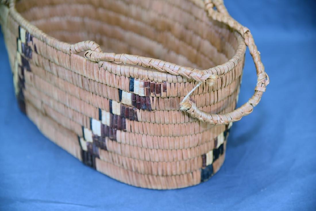 3 Thompson River Native American Baskets - 8