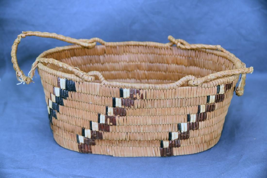 3 Thompson River Native American Baskets - 9