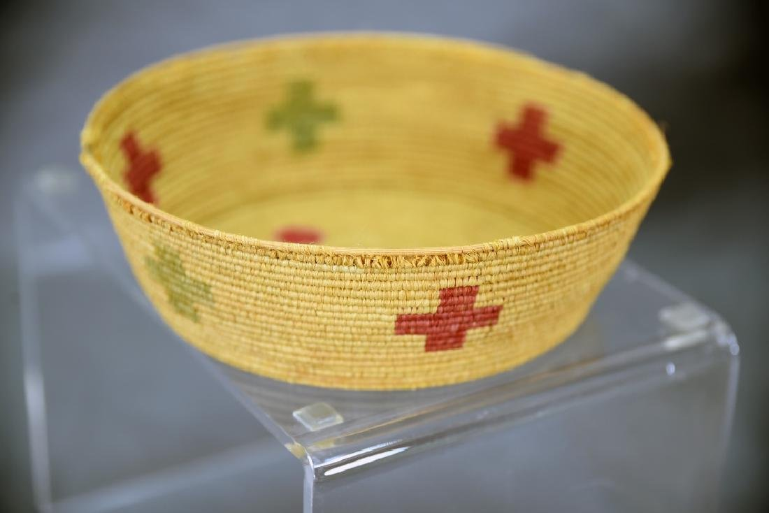 4 Southwest Native American Coil Baskets - 6