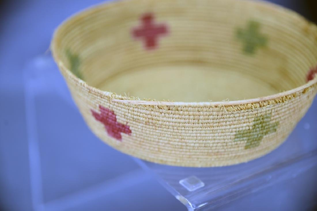 4 Southwest Native American Coil Baskets - 8