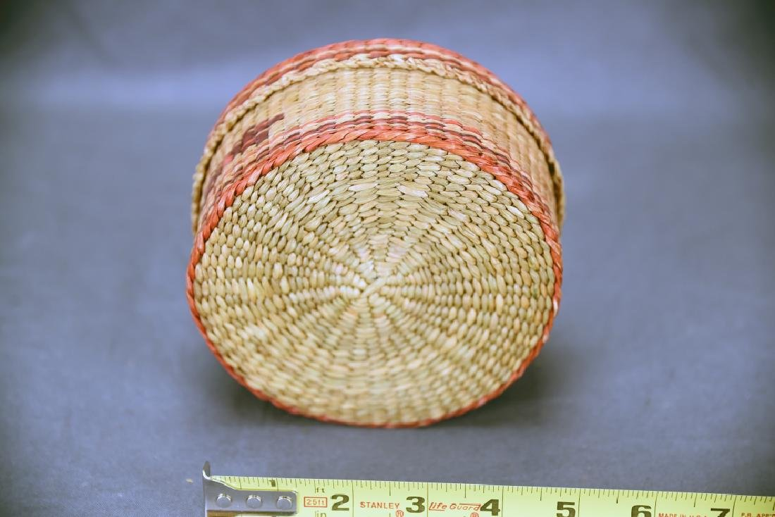 3 Native American Covered Baskets - 4