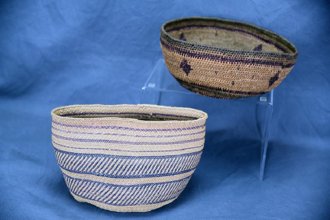 2 Southwest Native American Baskets