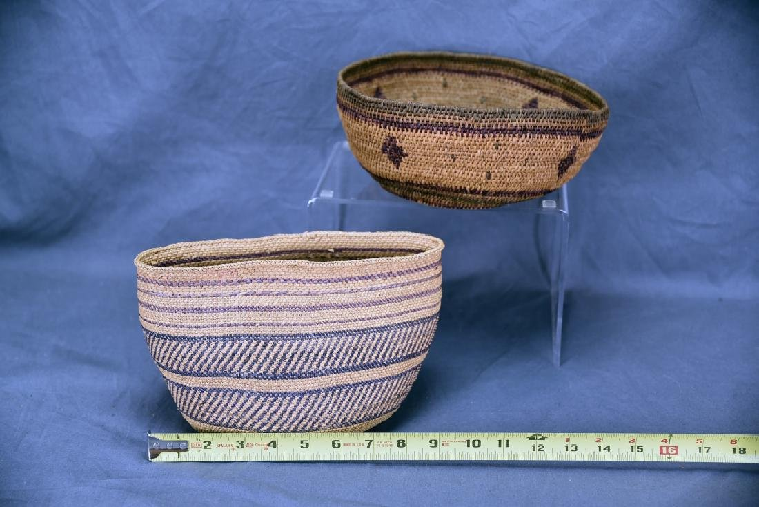 2 Southwest Native American Baskets - 2