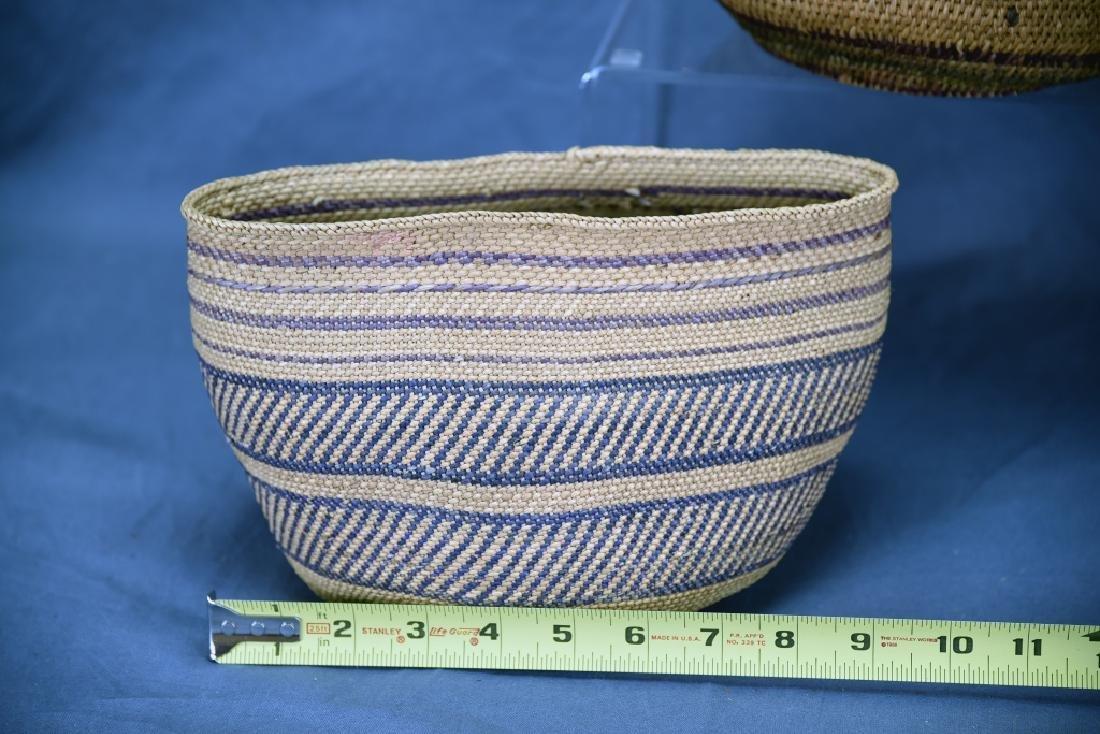 2 Southwest Native American Baskets - 3