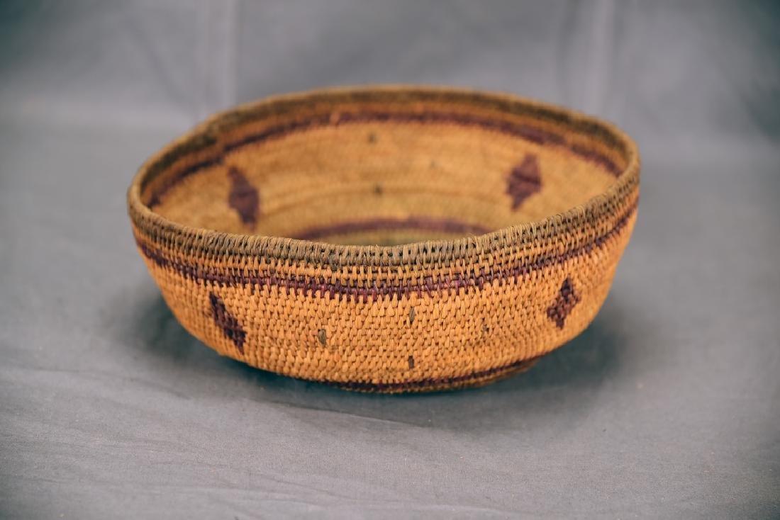 2 Southwest Native American Baskets - 7