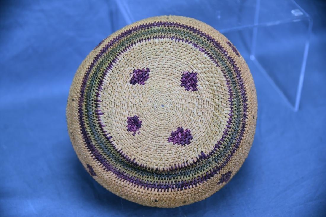 2 Southwest Native American Baskets - 8
