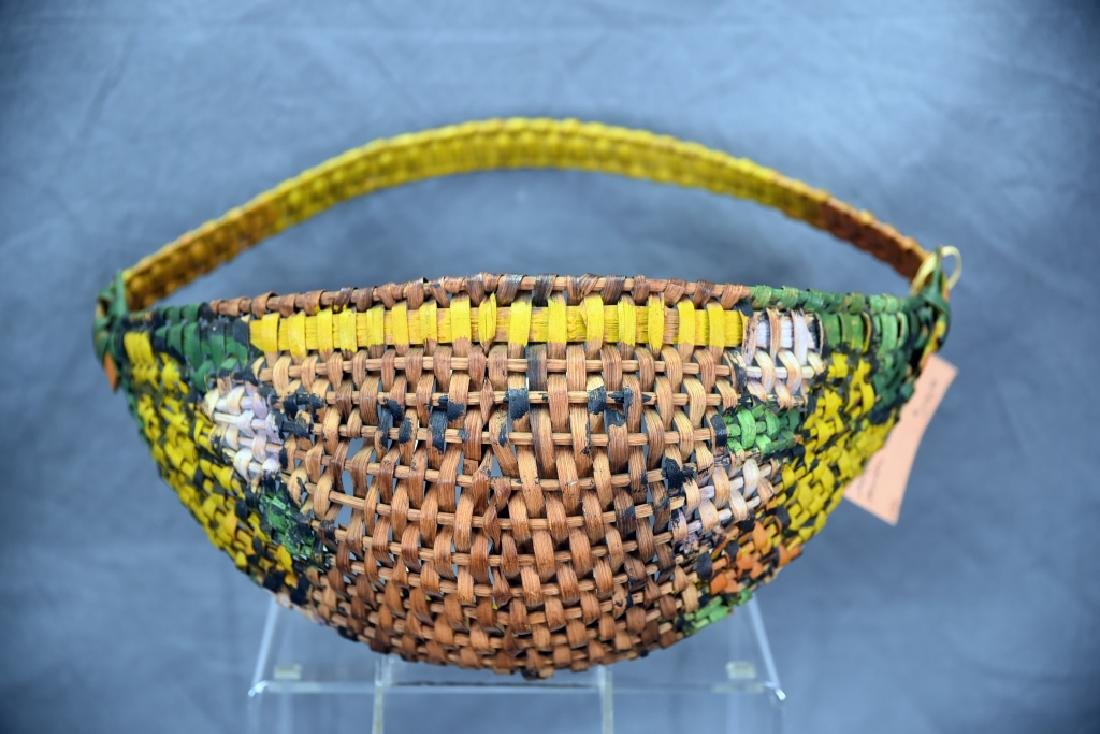 3 Native American Baskets - 7