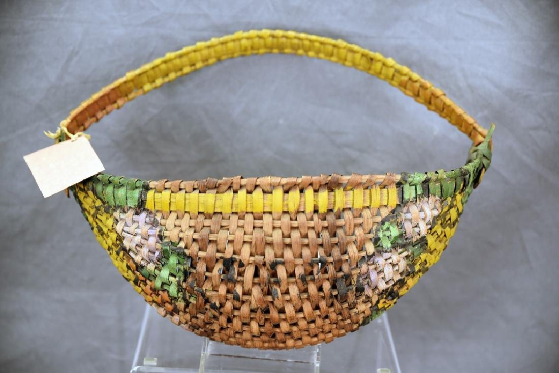 3 Native American Baskets - 8