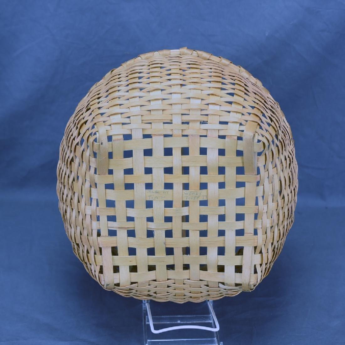 2 Splint Market Baskets - 10
