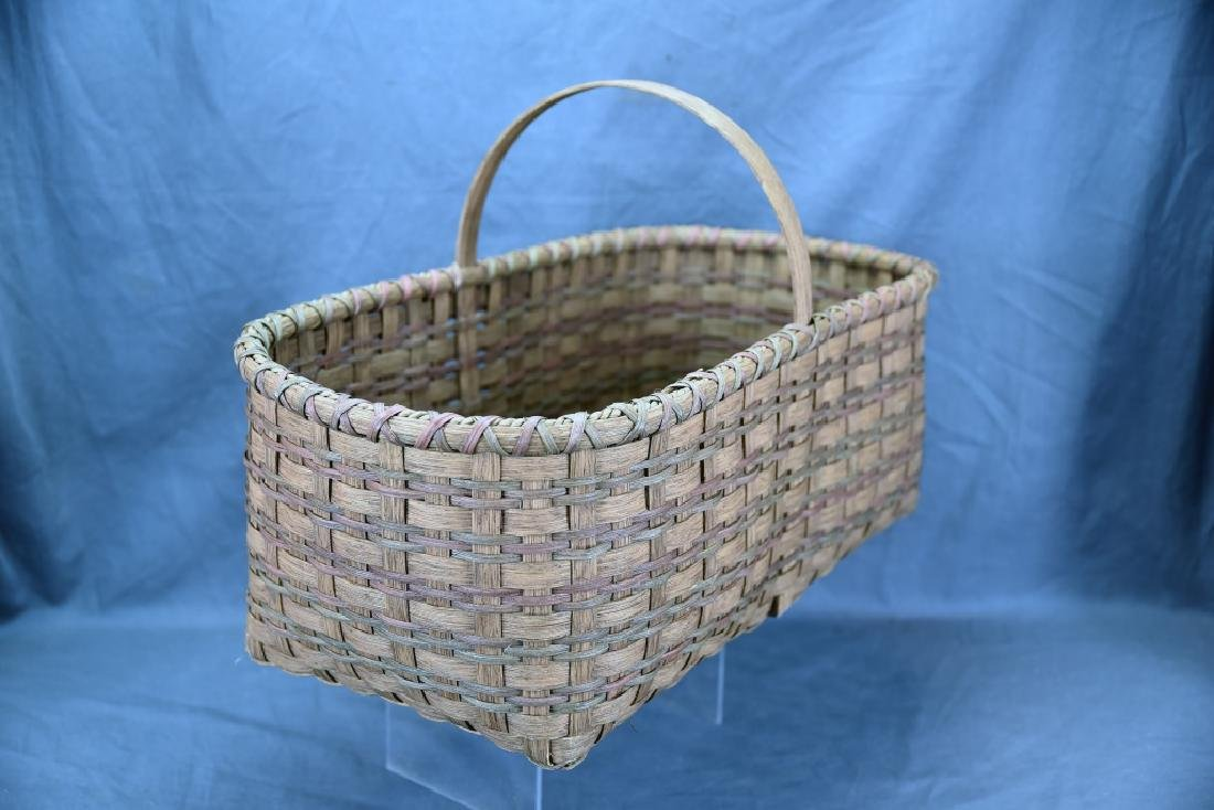 2 Splint Market Baskets - 3