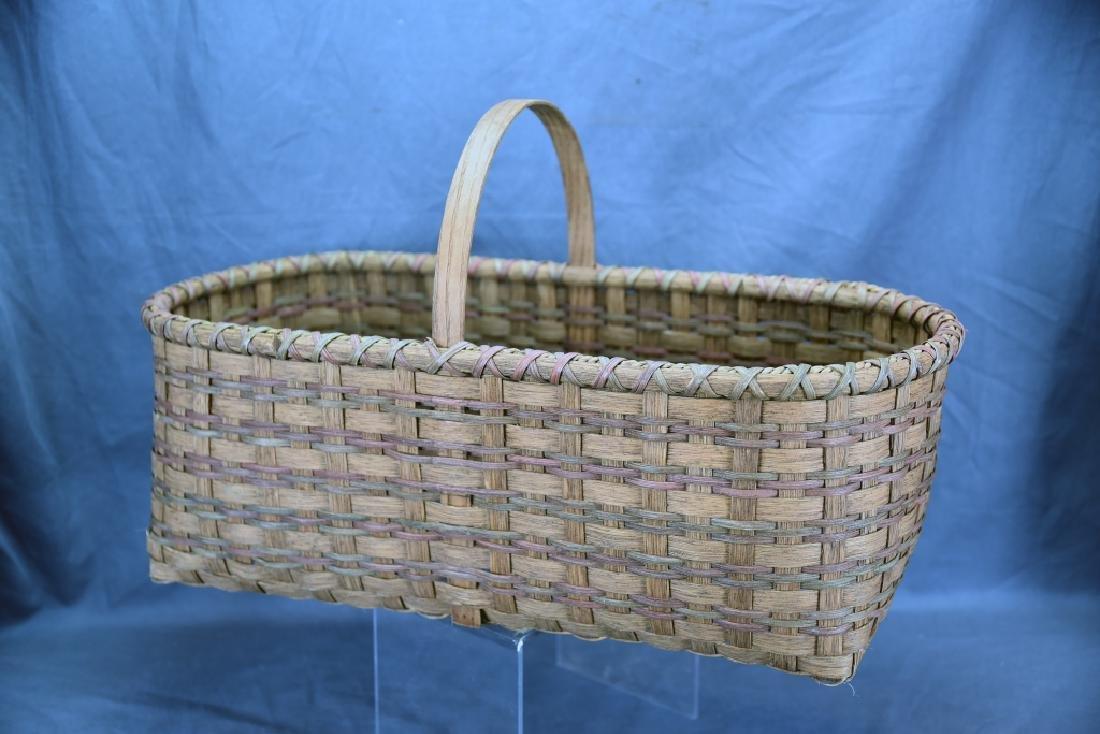 2 Splint Market Baskets - 4