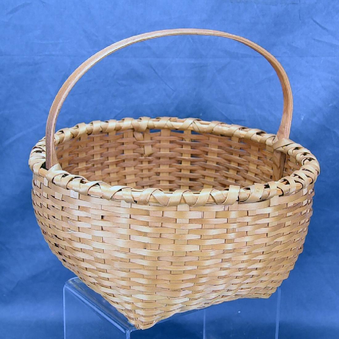 2 Splint Market Baskets - 7