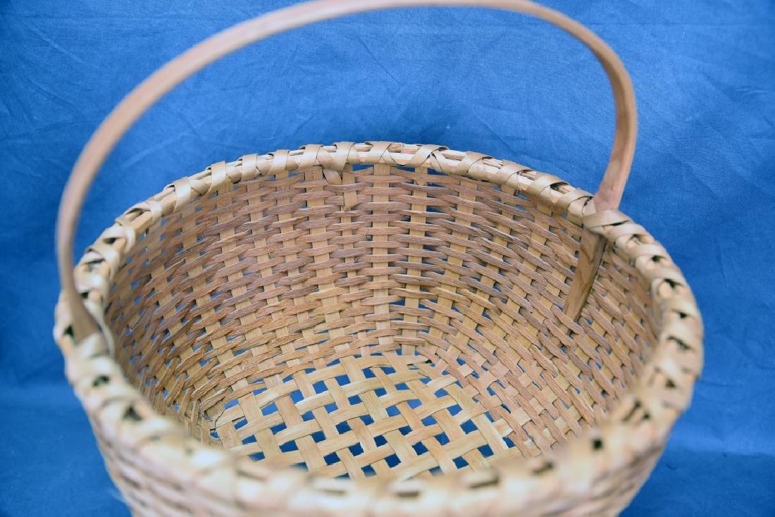 2 Splint Market Baskets - 8