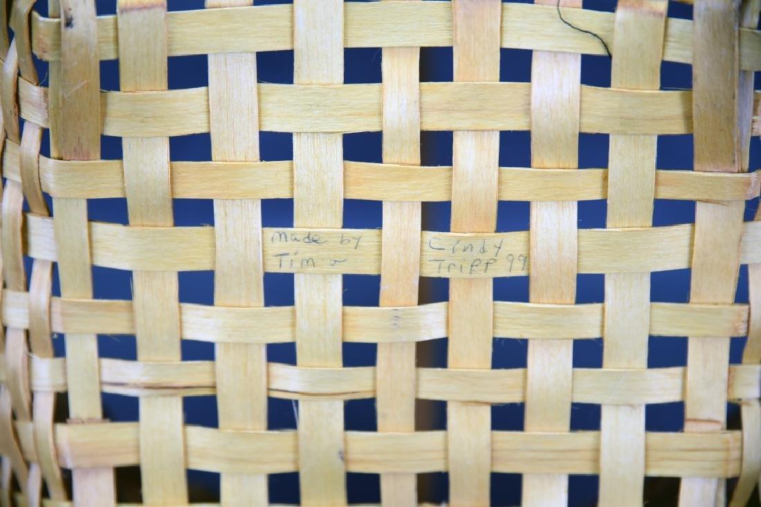 2 Splint Market Baskets - 9
