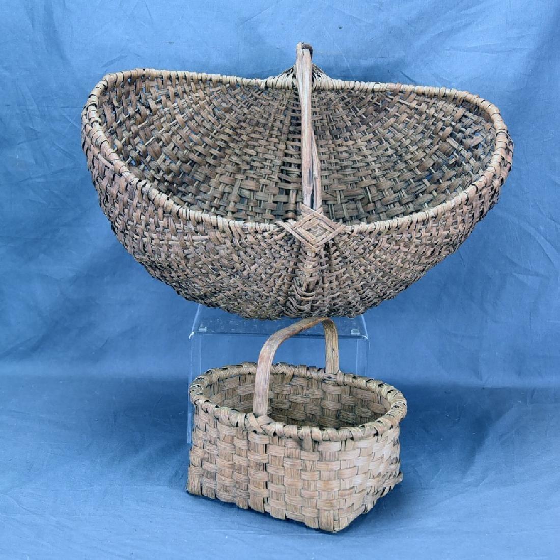 2 Split Ash Baskets