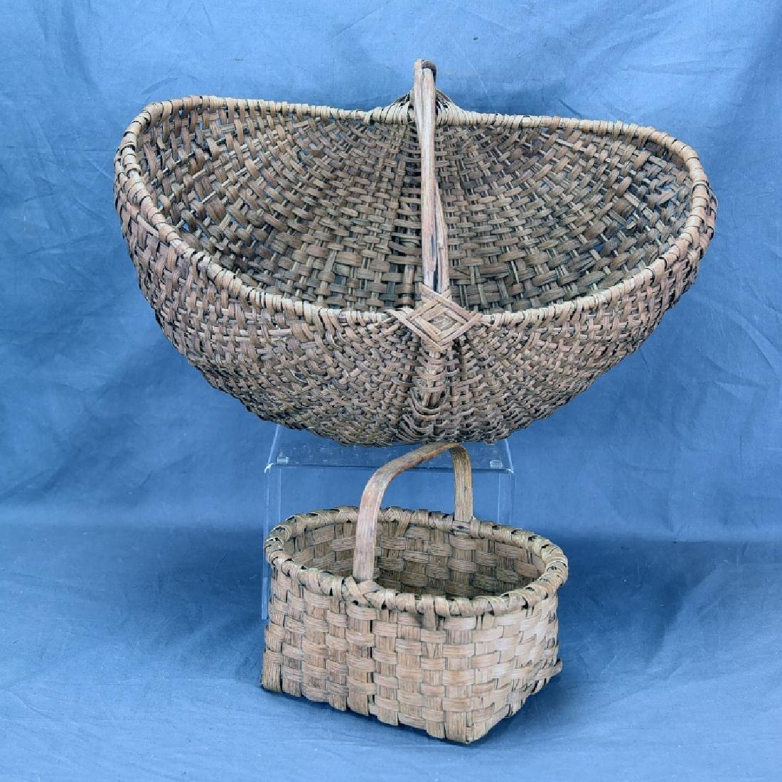 2 Split Ash Baskets