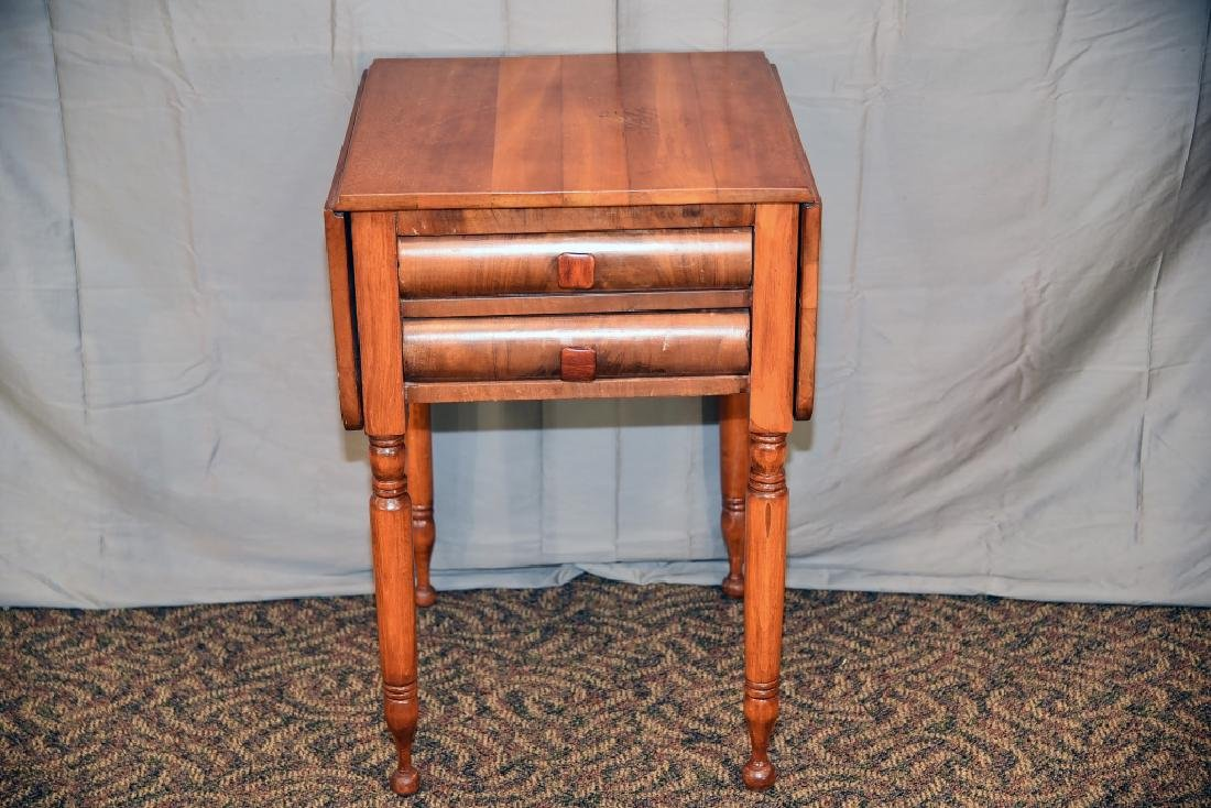 Empire 2 drawer Drop Leaf Table