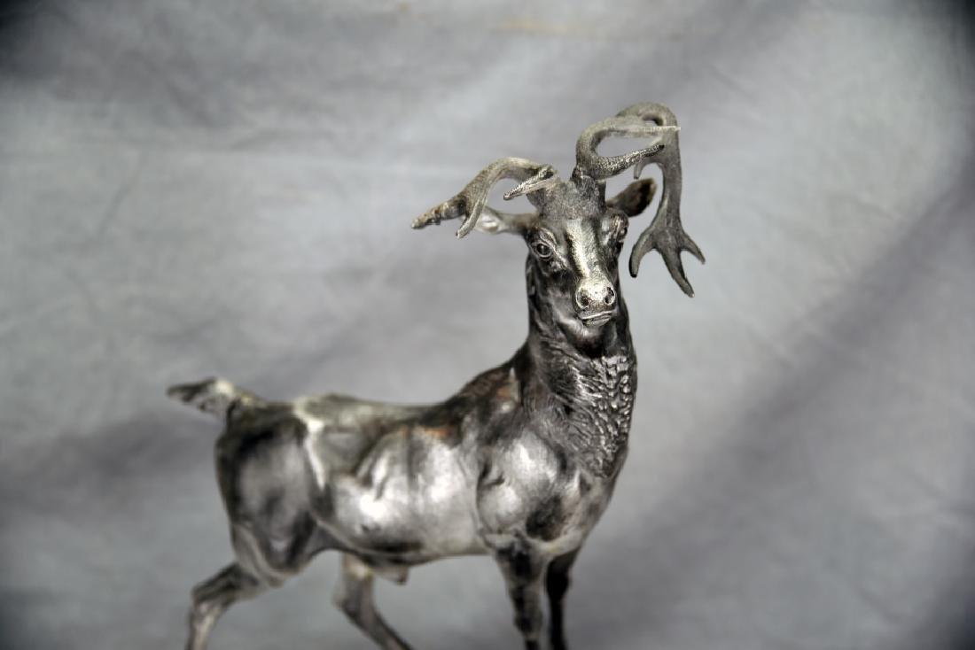 Cast Spelter Deer - 3