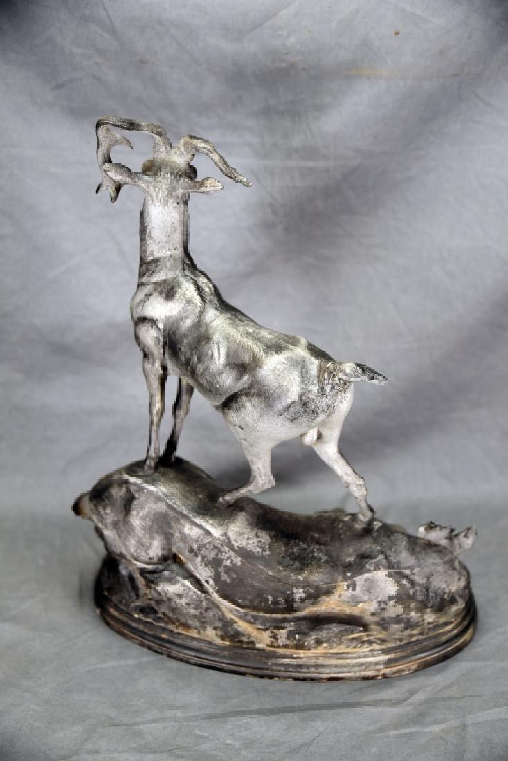 Cast Spelter Deer - 8