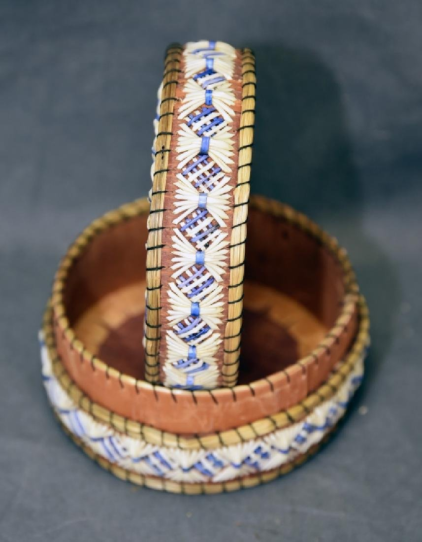 Ojibway Porcupine Quill Box - 3