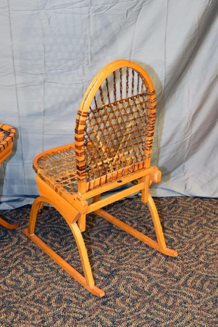 Vermont Tubbs Snowshoe Chair and End Table - 4
