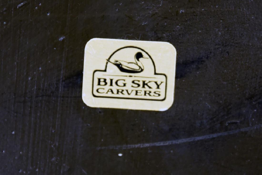 Big Sky Carvers Trout Candle Hurricane - 6