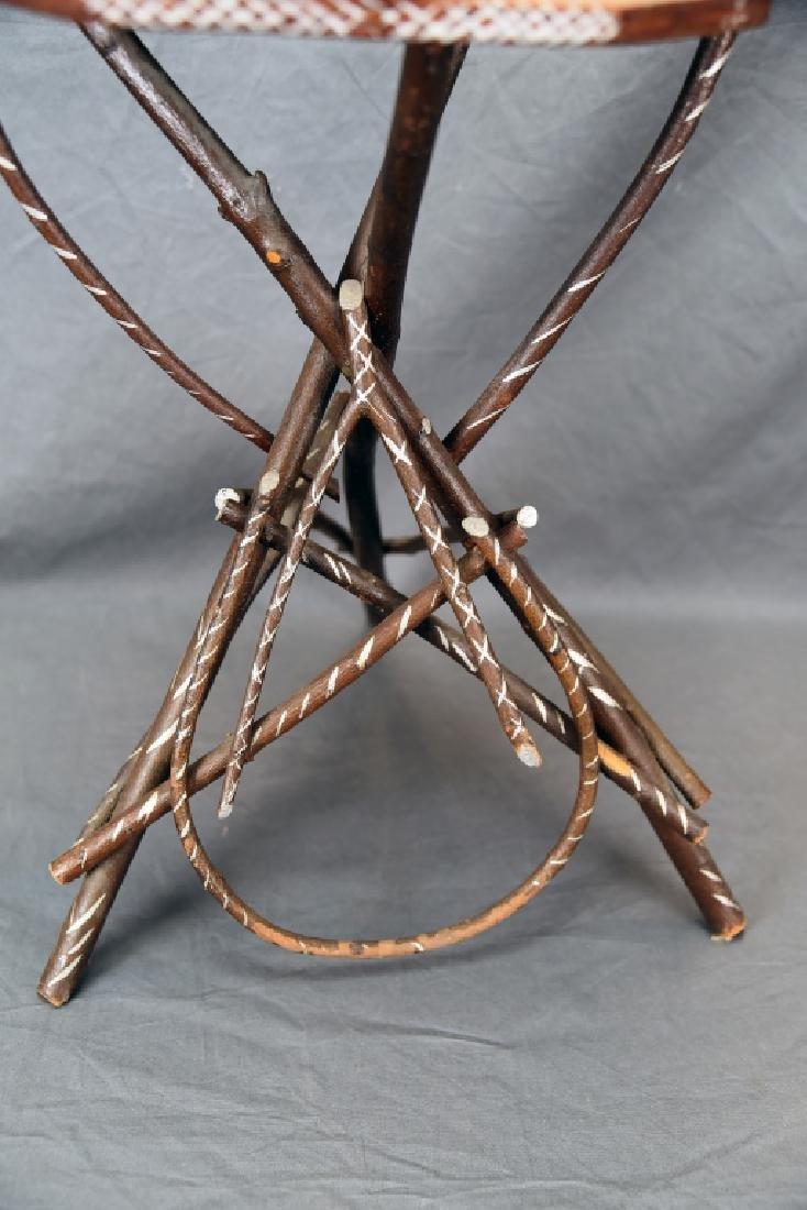 Vintage Twig Smoking Stand - 6