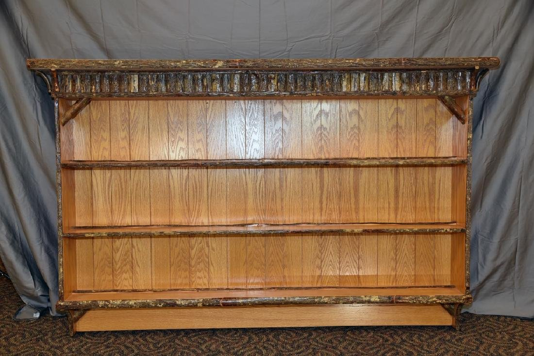 Old Hickory Wall Mount Shelving Unit