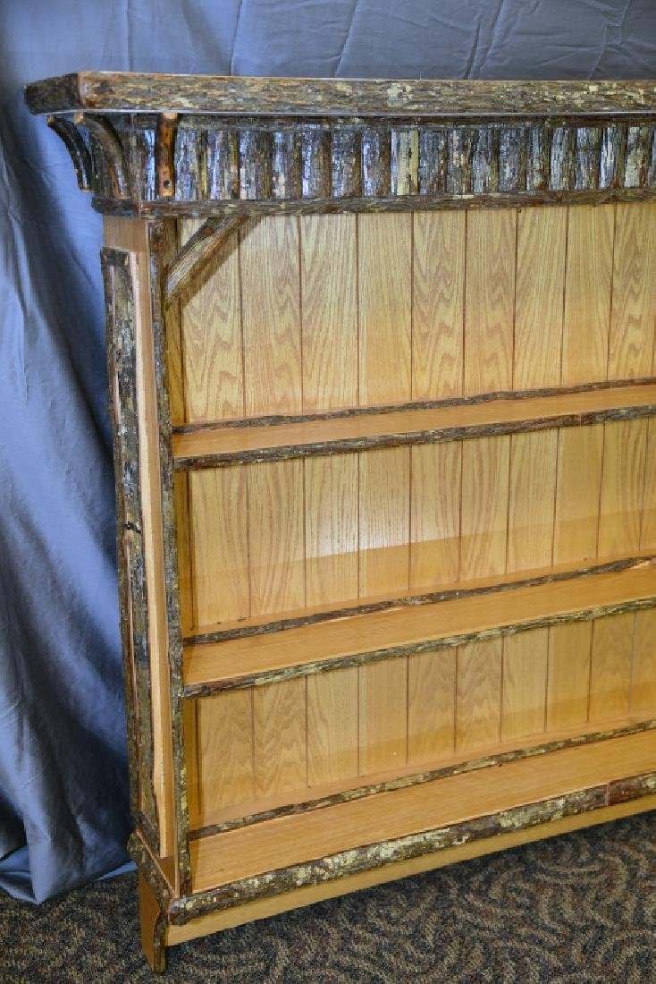 Old Hickory Wall Mount Shelving Unit - 5
